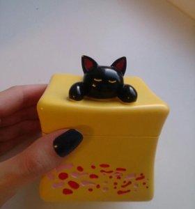 Шкатулка кошка