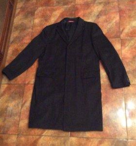 Мужское пальто Mangoon men р. 48 шерсть натуральна