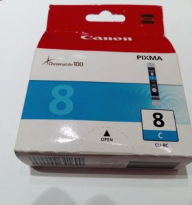 Картридж(Картриджи)Canon 8 (голубой)