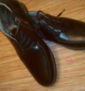 Обувь мужская подростковая зимния