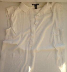 блузка без рукавов, трикотажная кофта с длинным