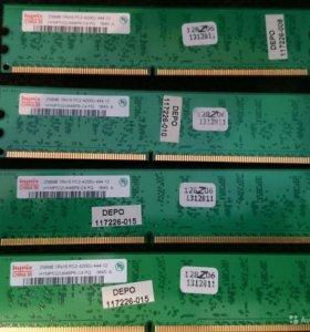 Оперативная память DDR2 Hynix256Mb
