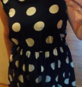 Платье шифоновое р.44-46