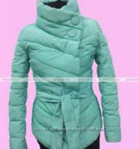 Осенняя теплая куртка