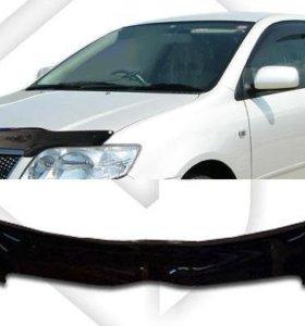 Дефлектор капота на Toyota Corolla