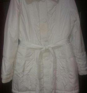 Пальто куртка демисезонное утеплённое 50 р-р