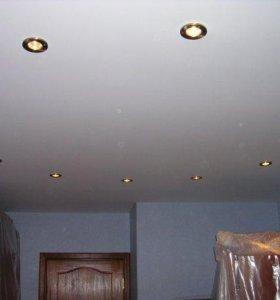 Натяжные потолки,монтаж,демонтаж,замена.Недорого.