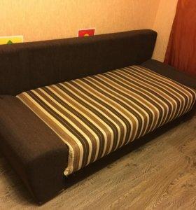 Раскладной 2-спальный диван еврокнижка б/у 150x205
