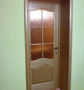 Откосы и фасады к входным железным дверям.
