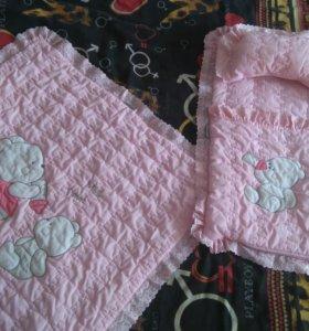 Конверт(Май-сентябрь)одеяло подушка