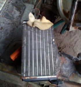 Радиатор печки 2110
