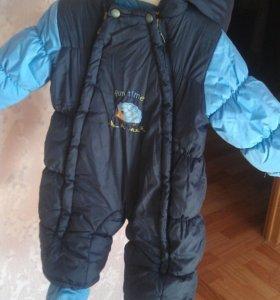 Детский зимний комбинезон