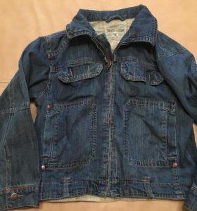 Курточка и бриджи на мальчика 8 лет