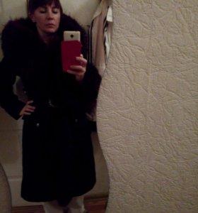 Пальто осень -зима, р-р 46-48