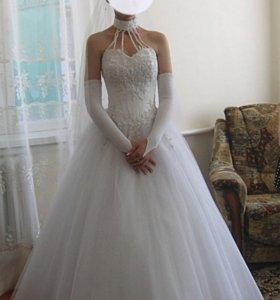 Свадебное платье. Италия. Джина Бакони