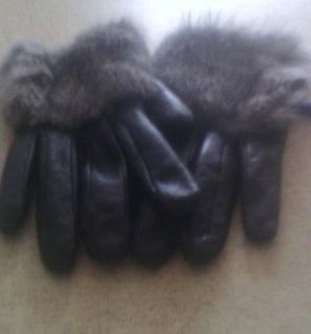 Перчатки осенние