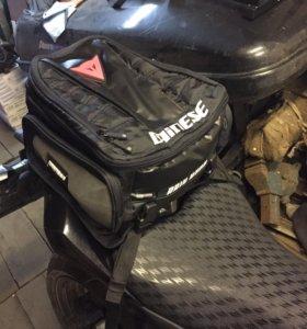 Дорожная сумка на мото