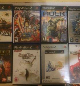 Продаю игры на  PlayStation 2