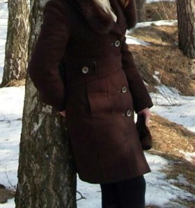Тёплое пальто 42-44