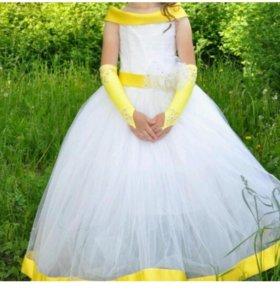 платье на девочку на 6-8л