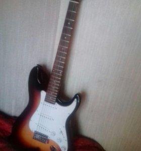 Продается электро-гитара -шестиструнка.