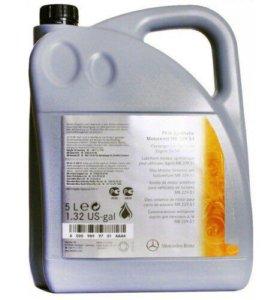 MERCEDES масло моторное синтетическое 5w30 5л.