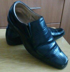 Туфли 37р-р,кожа,торг