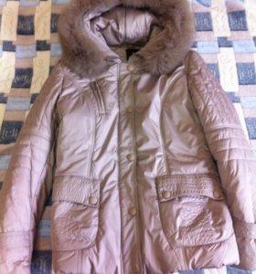Новая зимняя куртка 48-50р