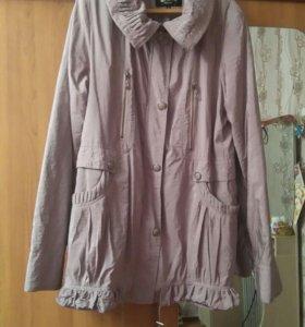 Куртка осенняя 54 р-р