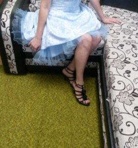 Вечернее карсетное платье