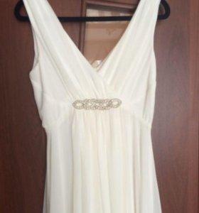 свадебное платье и пиджак