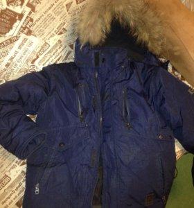 Детская зимняя куртка 8-9 лет