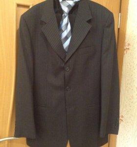 костюм мужской пиджак брюки галстук