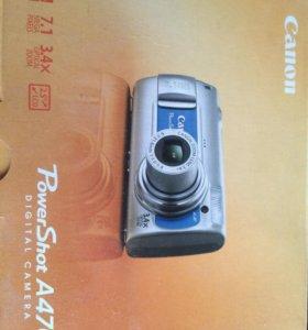 Фотоаппарат Canon power shot a-470