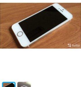 Продам iPhone 5S 32GB gold