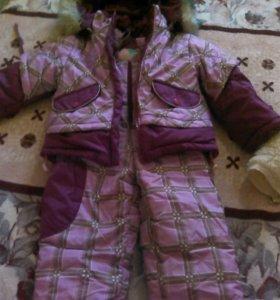 Детский комбинизон зима торг приветствуется