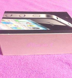 Коробка от айфон 4