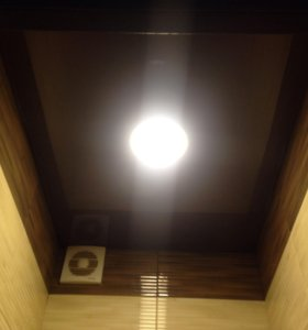 Натяжные бесшовные потолки