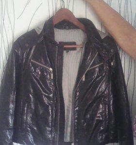 Куртка кожанная подростковая