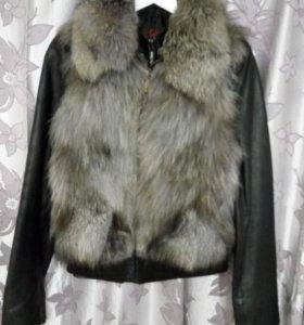 Жилетка + куртка