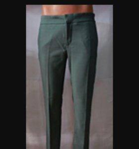 классика брюки темно синие