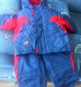 Осенний костюм на мальчика 1,5- 2,0 лет