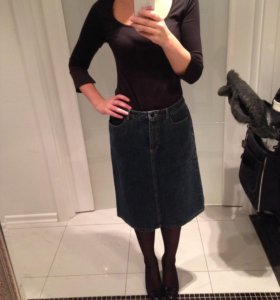 Джинсовая юбка Mexx