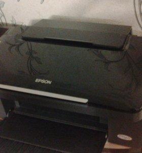 EPSON принтер сканер ксерок