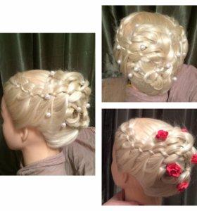 Макияж и причёски визажист