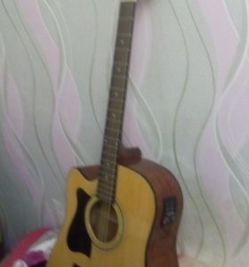 Гитара электроакустика для левши