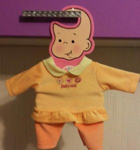 Костюм для куклы беби бон