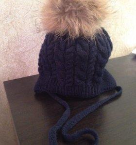 Зимняя шапка, 46-48 размер