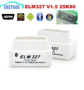 Obd2 elm327 диагностика авто