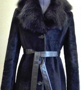 Шуба стриженный мутон (Меховое пальто)